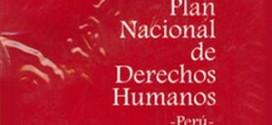 Nuevo Plan Nacional de Derechos Humanos: simulación y fraude