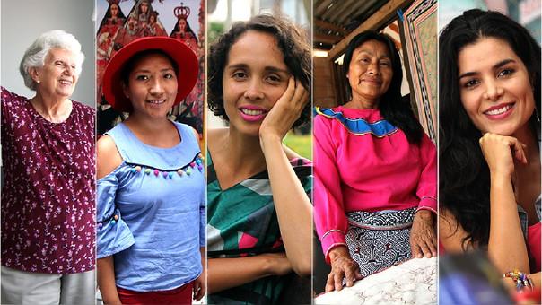 Lucy Telge, Lourdes Chambi, Giovanna Núñez, Wilma Maynas y Teresa Boullon son algunas de las mujeres que libran la buena batalla de la cultura en el Perú.