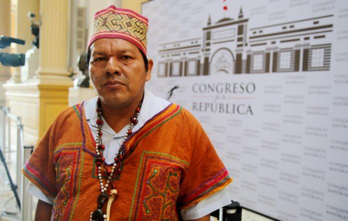 Julio Cusurichi, presidente de la Fenamad. Foto: SPDA