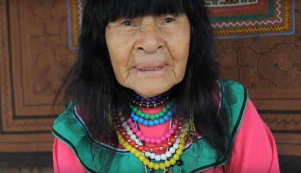 Olivia Arévalo. Imágen: captura de video / Temple of the Way of Light, vía El Comercio