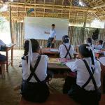 Problemas en amazonas. Escolares estudian en precarias residencias sin vigilancia. Foto: Renato Pajuelo