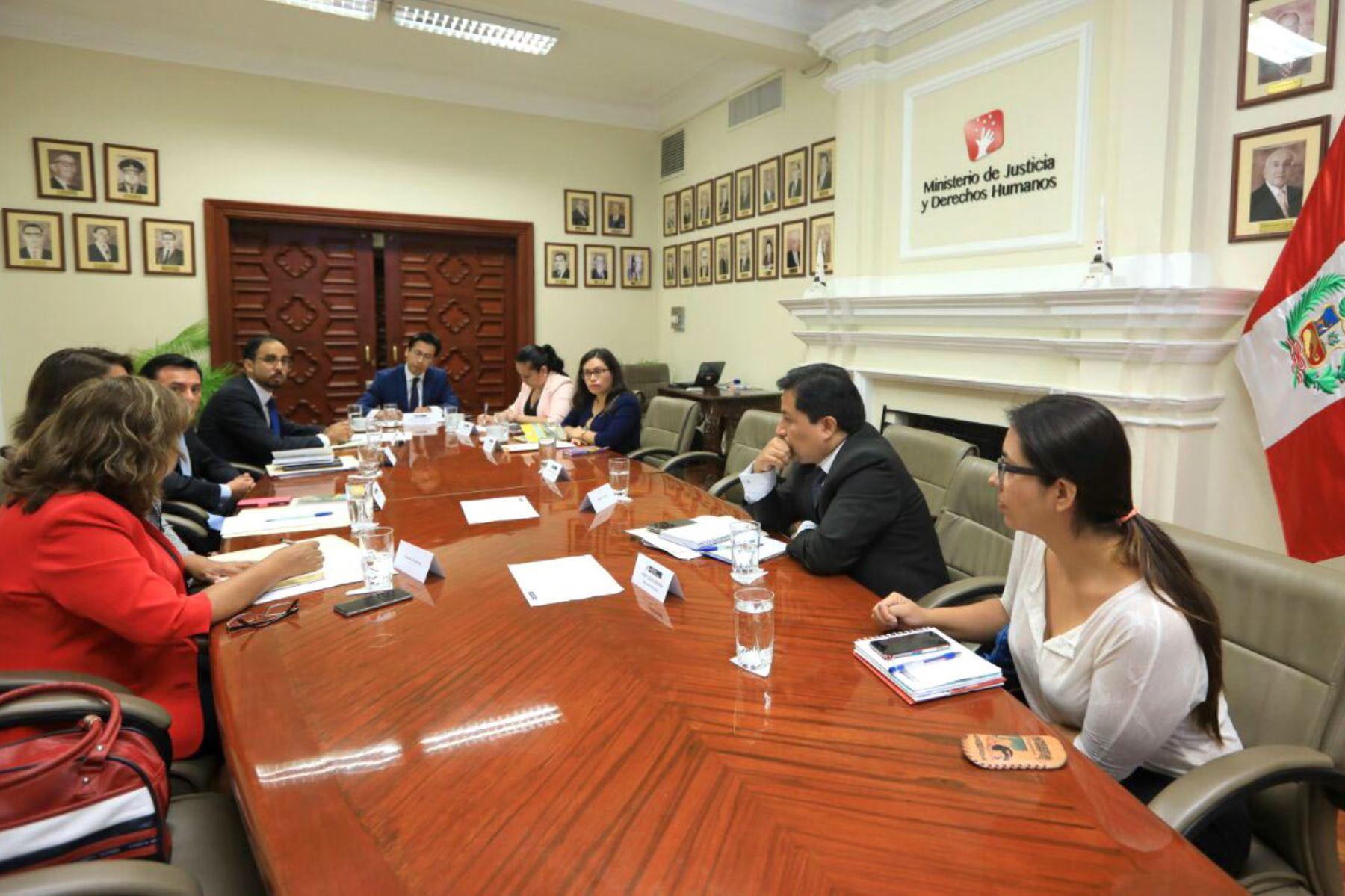 El Ministerio de Justicia organizó mesa de trabajo donde se evaluaron acciones en favor de los Awajún y Wampis. Foto: ANDINA