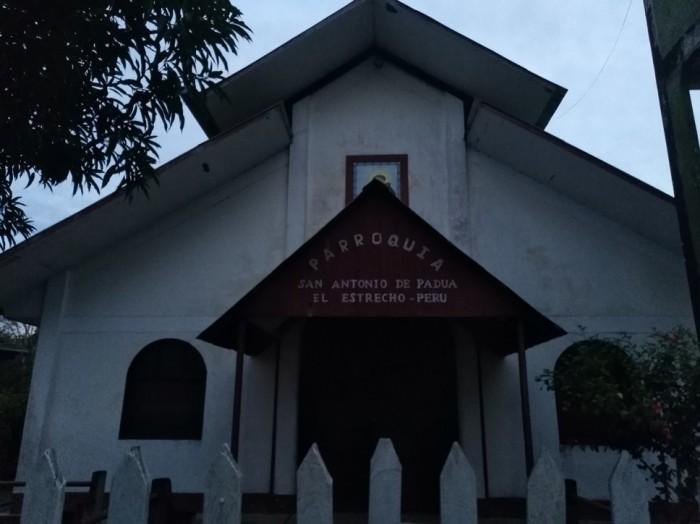 Parroquia San Antonio de Padua, donde tuvieron los talleres sobre derechos humanos y Panamazonía. Foto: CAAAP