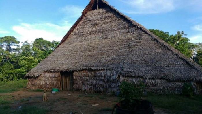 Maloca murui inaugurada hace algunos meses. Foto: CAAAP