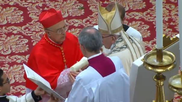 El 17 de julio de 2004, Barreto fue nombrado Arzobispo Metropolitano de Huancayo, cargo que ejerce hasta la actualidad.   Fuente: Captura   Youtube: Vatican Media Live