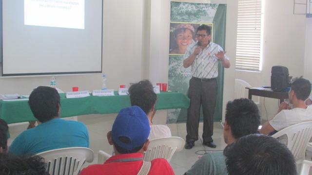 Director de Posgrado de la UNCP. Foto: CAAAP Selva Central
