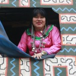 Hincha declarada de Paolo Guerrero, viajará a Moscú para homenajear a la bicolor con su arte y el encanto de su voz. Foto: ANDINA