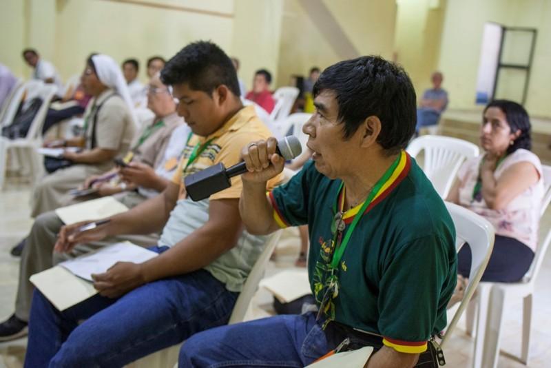 Santiago Manuin, representante y líder del pueblo Awajún. Foto: CAAAP
