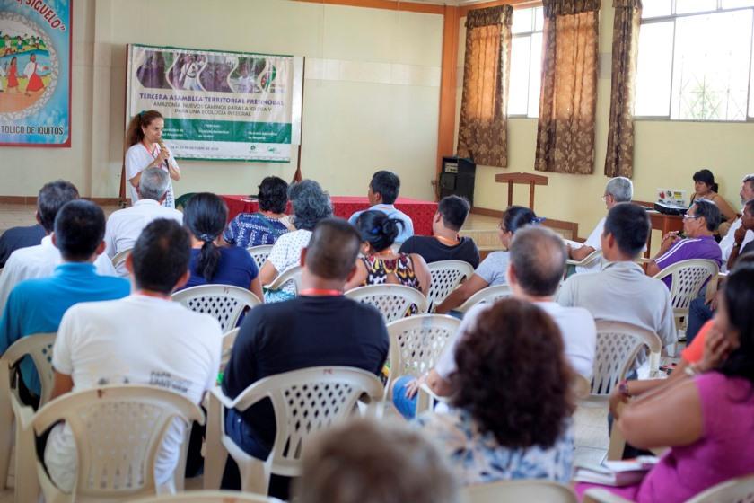 Presentación de participantes. Foto: CAAAP