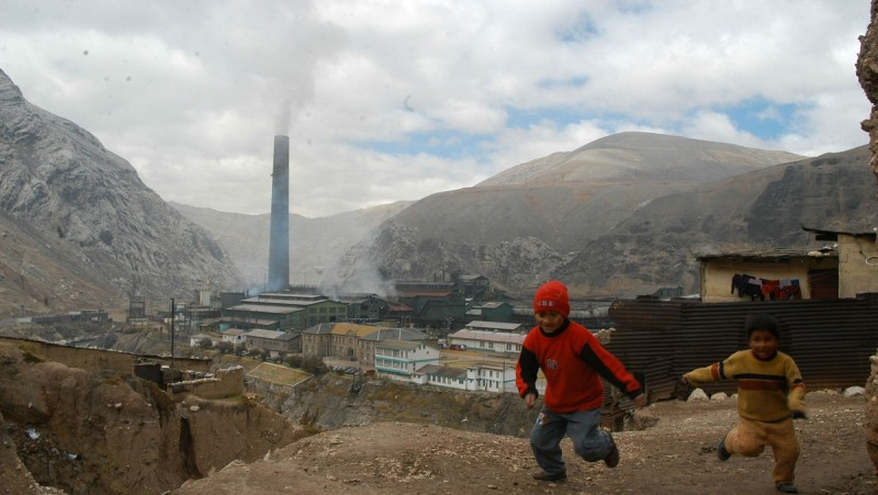 Pasco, una de las regiones con más casos de afectados por metales tóxicos. Foto: Tomado de la web de la Defensoría del Pueblo