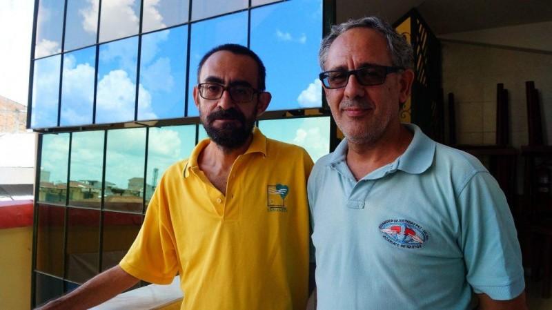 Manolo Berjón y Miguel Ángel Cadenas. Foto: CAAAP