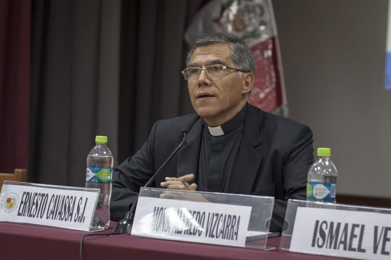 Monseñor Alfredo Vizcarra. Foto: CAAAP