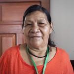 Rosario Chamiquit. Foto: CAAAP