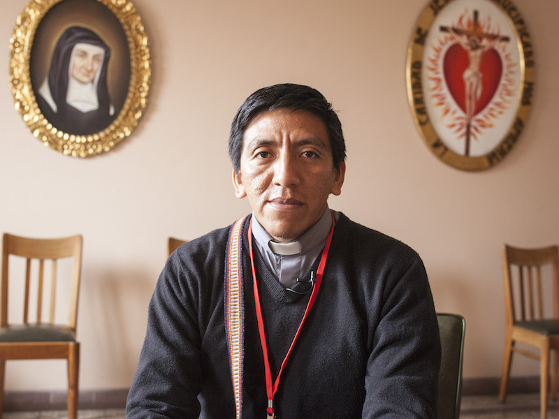 Padre Julio Requena. Foto: CAAAP