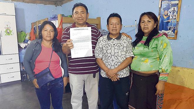 Shipibo-konibos solicitan reunión con Jorge Muñoz por problemas en Cantagallo