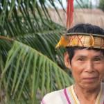 Representante de etnia asháninka de la comunidad nativa Santa Isabel, en el río Sepa (Ucayali). Foto: CAAAP
