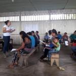 Las comunidades de San Pedro y Cuninico realizaron asambleas comunales para valorar estado de las medidas cautelares. Foto: CAAAP