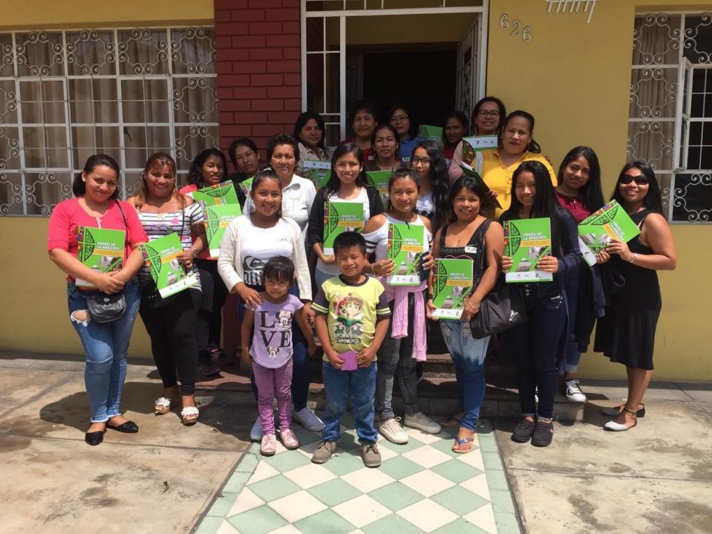 En la actividad se encontraron una veintena de mujeres pertenecientes a cinco pueblos amazónicos. Foto: CAAAP