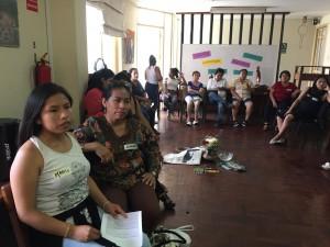 Pacaya compartió experiencias y perspectivas junto a otras mujeres amazónicas de pueblos diversos. Foto: CAAAP