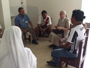 Se propiciaron espacios de diálogo para el intercambio de ideas en la búsqueda de un Plan Pastoral consensuado. Foto: CAAAP