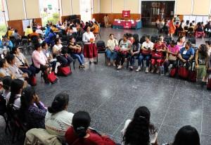 El encuentro fue un espacio de diálogo y reflexión colectiva. Foto: ONAMIAP