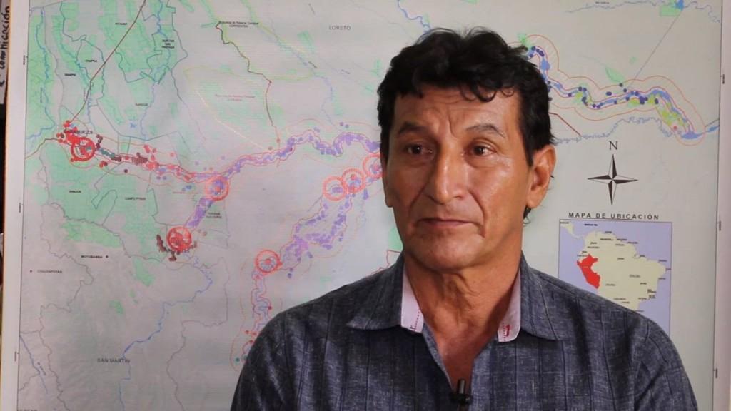 Apu Alfonso López Tejada, Presidente de la Asociación Cocama de Desarrollo y Conservación San Pablo de Tipishca que forma parte de ORPIO.
