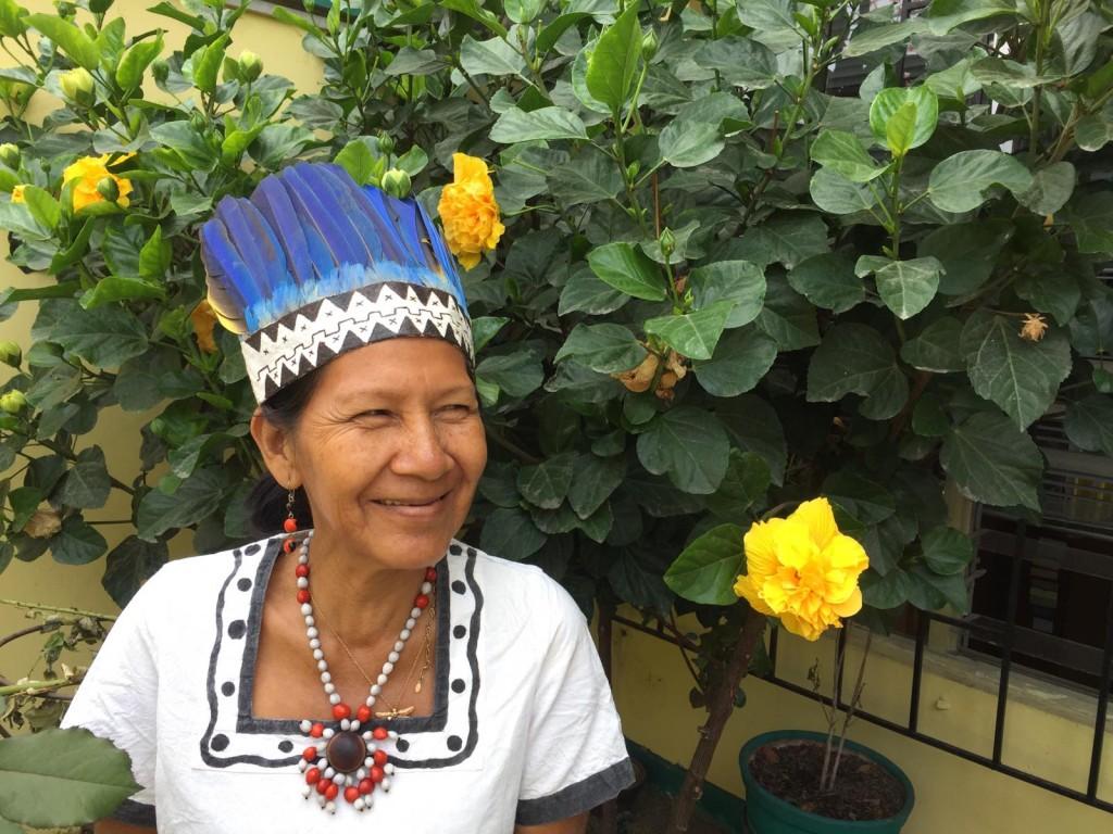 La señora Zoilita ejerce actualmente como vocal de AIDESEP. Foto: Beatriz García