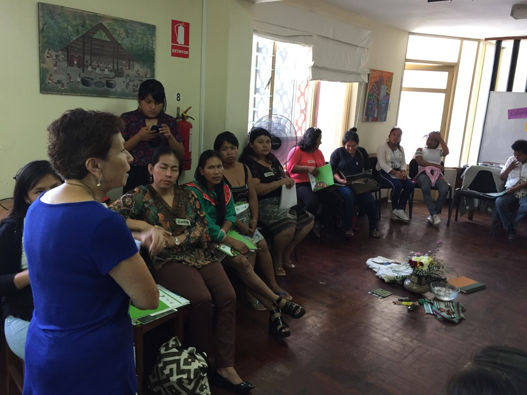 Para Vargas, las mujeres amazónicas cuentan con una gran valía. Foto: CAAAP