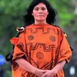 Ruth Buendía, reconocida dirigente ashaninka galardonada con el premio Goldman, cuenta que a la gente de su comunidad se la discrimina en los servicios de salud y otros provistos por el Estado.