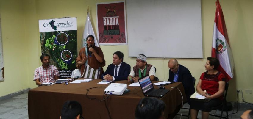 El Geoservidor servirá para el monitoreo, vigilancia y alertas tempranas en la Amazonía peruana. Foto: AIDESEP