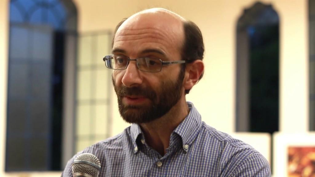 Padre Darío Bossi, durante una entrevista: Foto: Observatorio de Evangelización en Movimiento