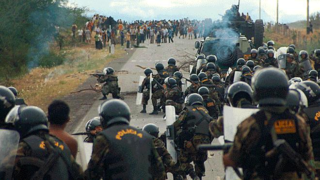WikiLeaks reveló quién estuvo detrás del Baguazo. Créditos: La República
