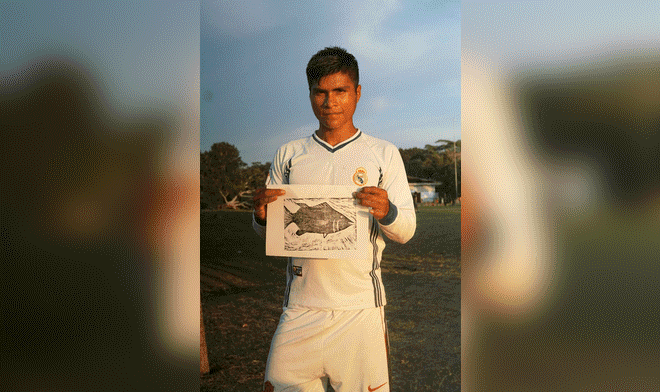 Cristian Java, el joven monitor ambiental que perdió la vida