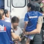 Los niños fueron trasladados en helicóptero al hospital de Pucallpa. Foto: Mininter