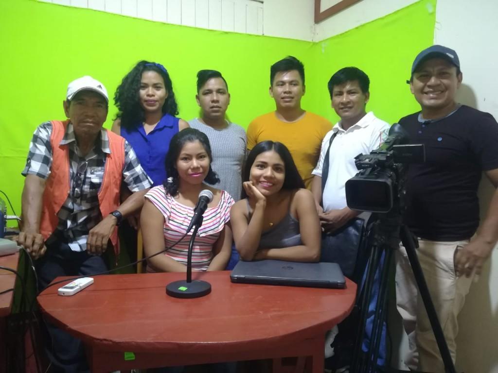 Imagen de parte del grupo que participó en la capacitación. Foto: CAAAP
