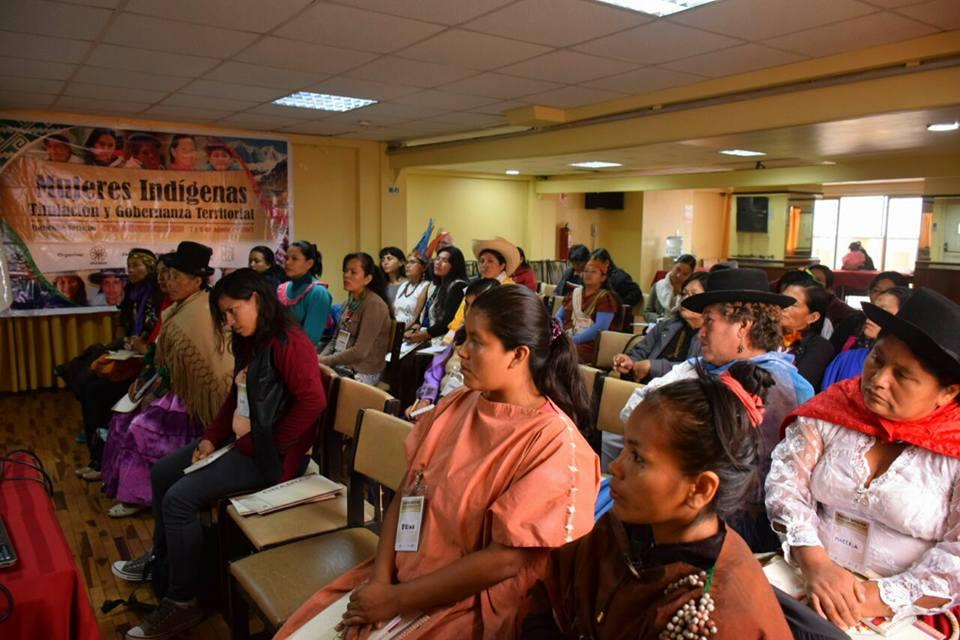 Mujeres Indígenas. Foto: Facebook/ONAMIAP.