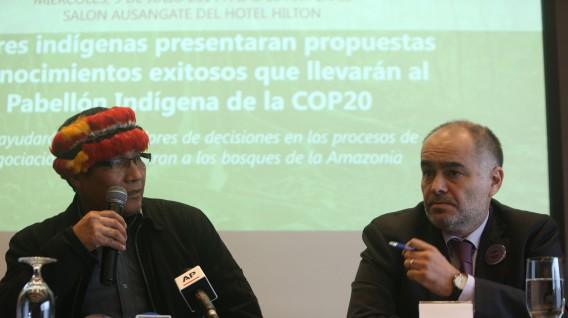El viceministro Quijandría detalló los avances de la consulta previa en marcha para la aprobación del reglamento. (Foto: GEC)