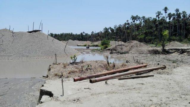 Suspenden 127 concesiones mineras dentro de la comunidad nativa Tres Islas