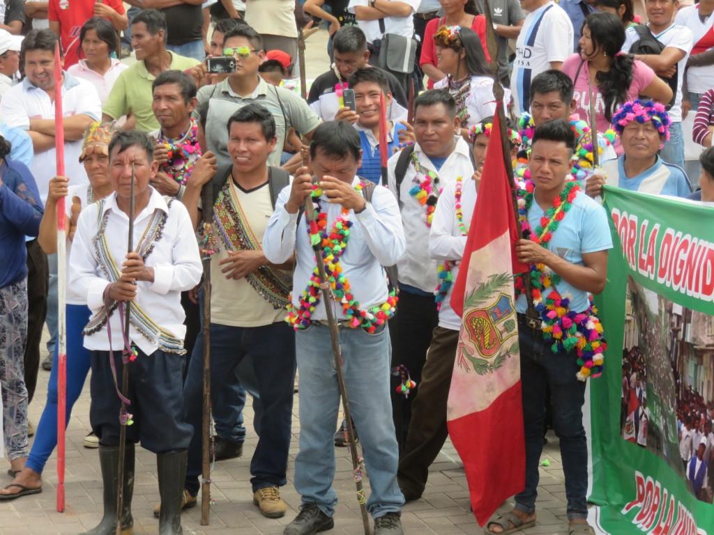 Comuneros de la zona se movilizaron en 2018 por este mismo asunto. Foto: Pastoral de la Tierra