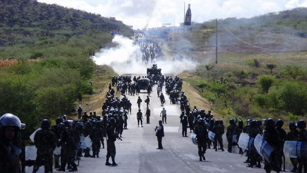 La carretera Fernando Belaunde Terry fue el escenario de uno de los más sangrientos pasajes de la historia del Perú: el Baguazo.   Fuente: EFE