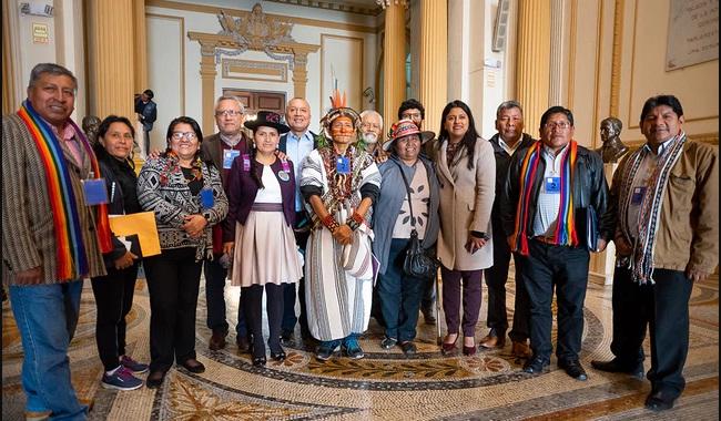 Propuesta legislativa de Nuevo Perú y Frente Amplio plantea escaños para pueblos indígenas. Foto: Nuevo Perú.