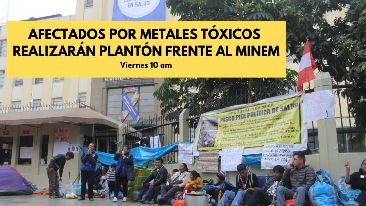 La convocatoria es ante el Ministerio de Energía y Minas. Foto: Plataforma