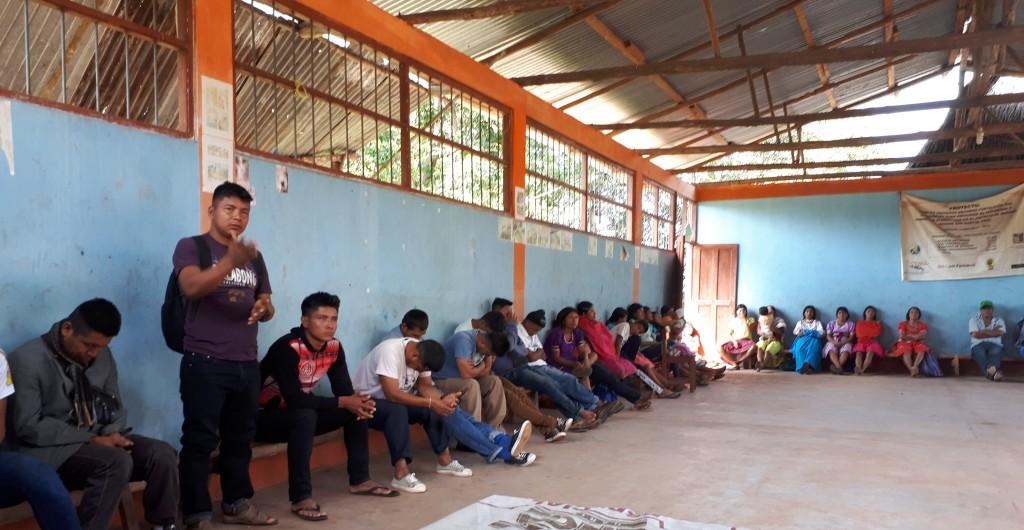 Imagen del encuentro al que hace referencia la nota. Foto: Anahí Chaparro