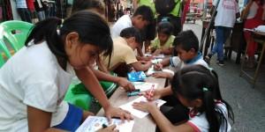 Se realizaron talleres para niños y adultos que tuvieron gran aceptación. Foto: Amazonízate Yurimaguas