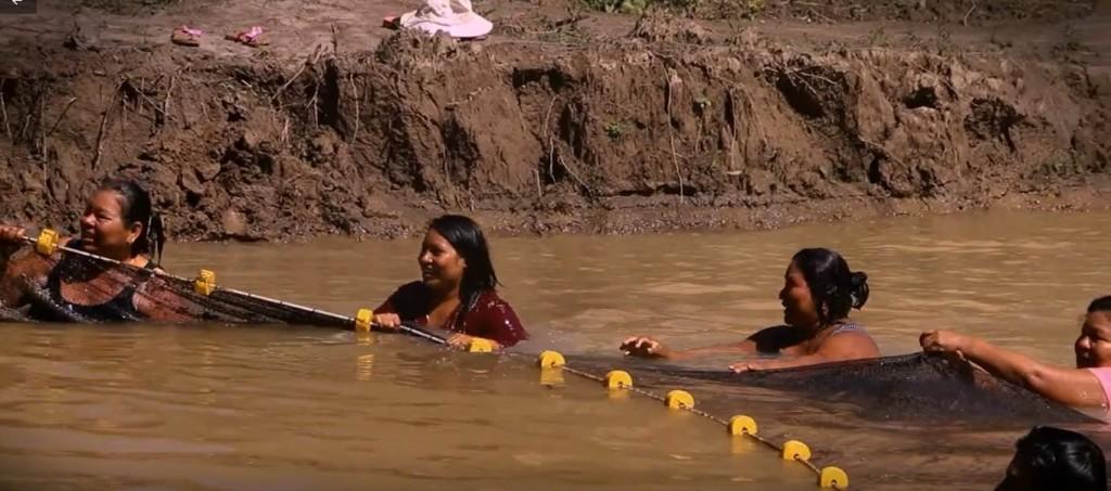 La piscigranja cuenta con 1.800 metros cuadrados. Foto: Cáritas Madre de Dios