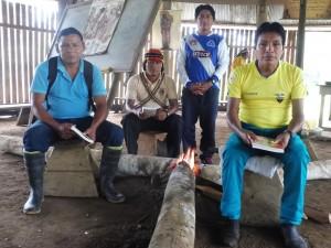 Los achuars llevan más de dos décadas manifestando su negativa al ingreso de empresas extractivas en su territorio. Foto: Cedida