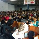 El auditorio se registró prácticamente lleno. Foto: Arquidiócesis de Trujillo