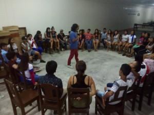 'Aparecimos' es resultado  de un proceso creativo grupal. Foto: Amazonízate Yurimaguas