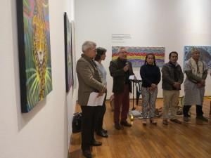 La muestra cuenta con la organización conjunta de la Municipalidad de Lima, la comunidad Cantagallo, el Caaap y la CNDDHH. Foto: Beatriz García