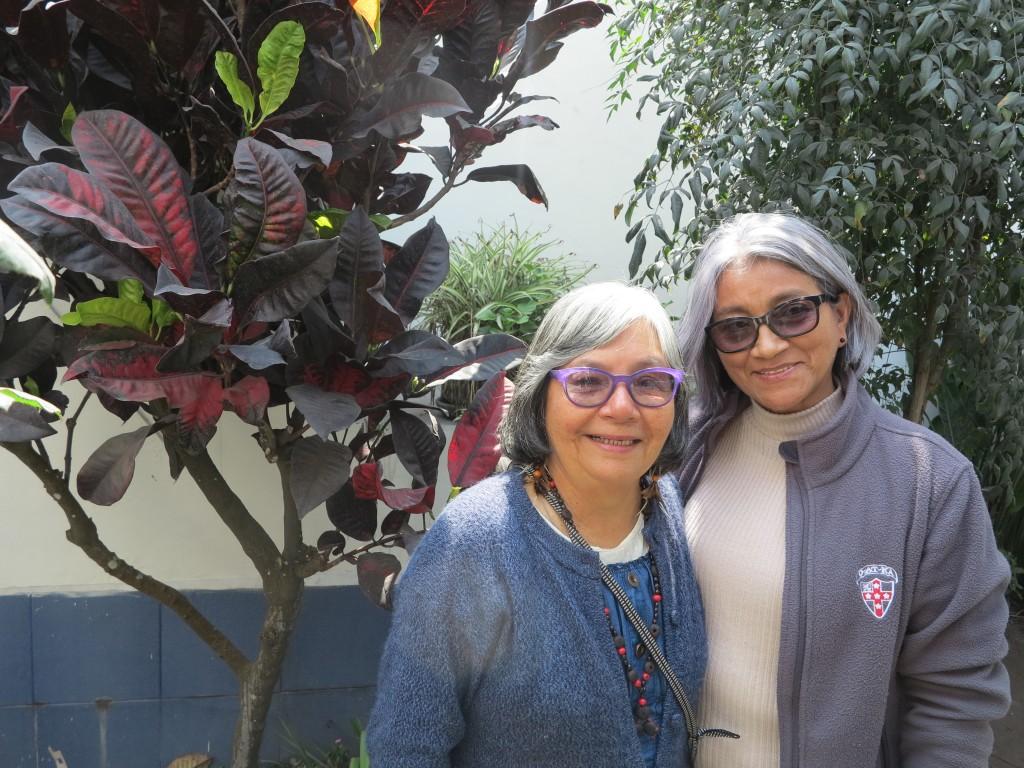 Raimunda y Arizete, dos mujeres que viven por y para los pueblos más alejados. Foto: B. García